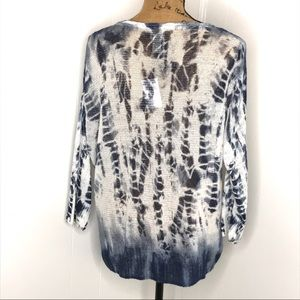 Chico's Sweaters - Chico's Allison Tie Dye Pullover Sweater-Size 2
